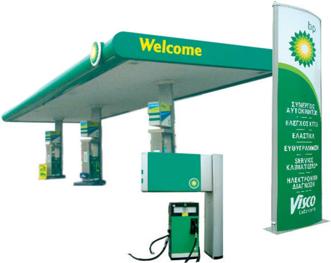 BP Πρατήριο σήμανση