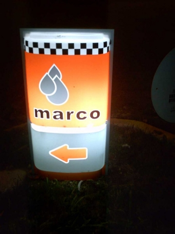 Πυλωνάκι εισόδου marco